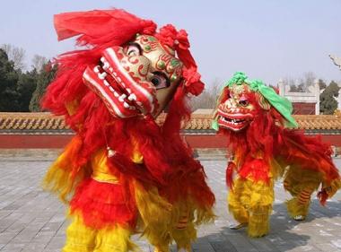 重庆舞狮表演